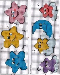 Милые сюжеты для детской вышивки