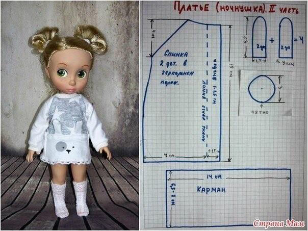 Шьем одежду для куколок 0