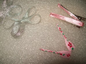 Заколка, сделанная детскими руками 2
