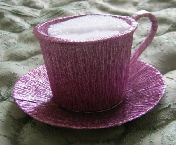 Чашечка для композиции из конфет