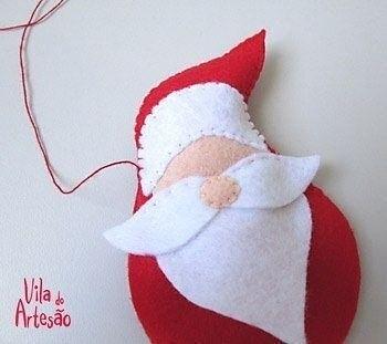 Дед Мороз из фетра 5
