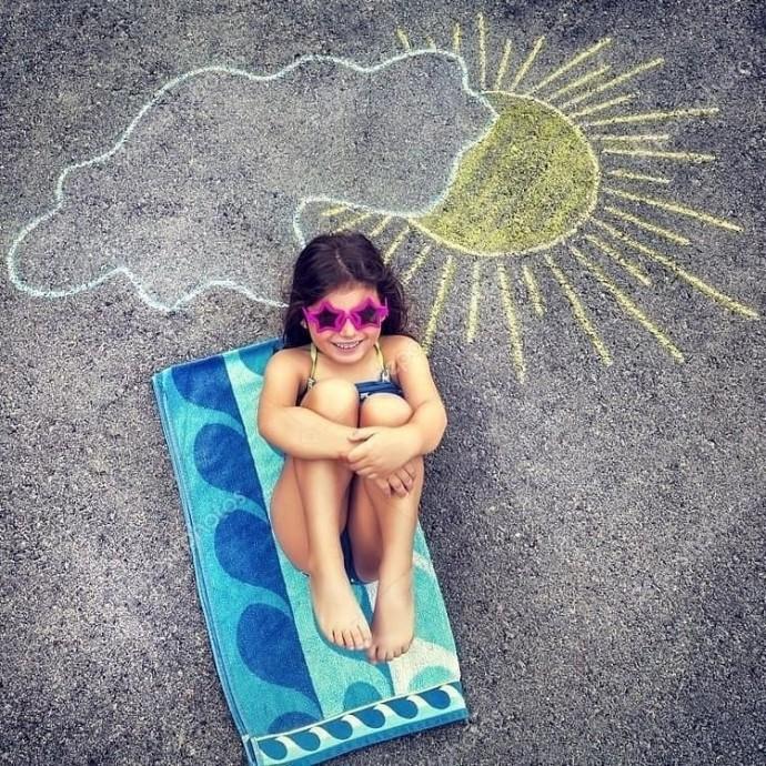 Идеи для детской летней фотоссесии