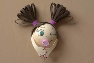 Кукла-магнит из фоамирана