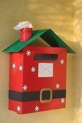 Почтовый ящик для писем Деду Морозу