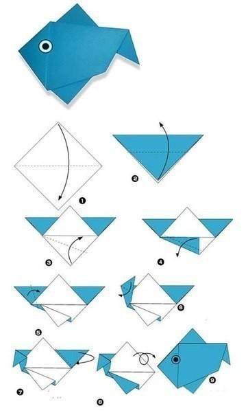 Разные животные в технике оригами