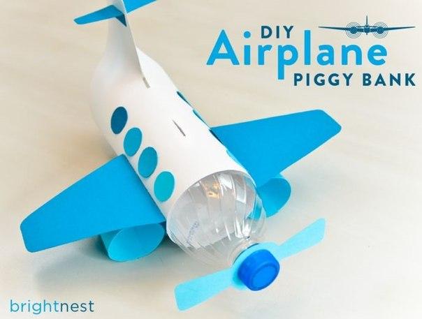 Самолет из пластиковой бутылки