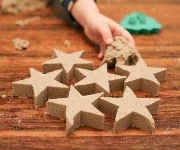 Кинетический песок 2