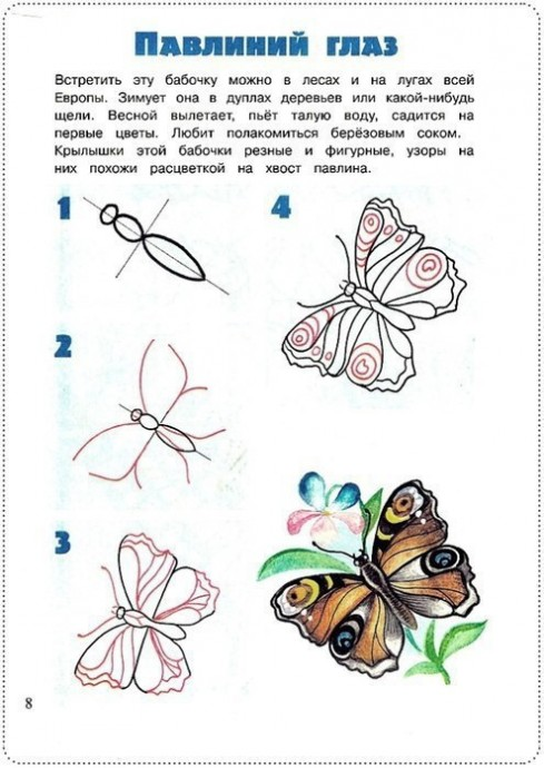 Рисуем букашек и насекомых