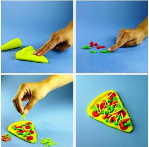 Кухонная тема: лепим с детьми из пластилина