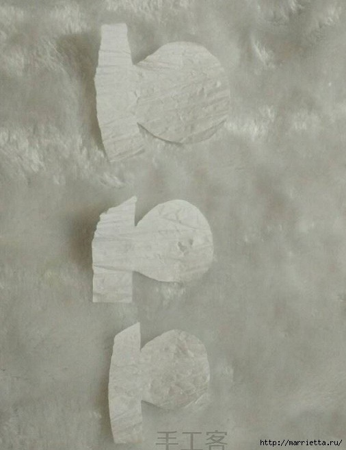 Махровая гвоздика из бумаги: мастер-класс