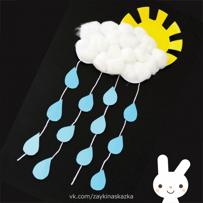 Весенний дождик детскими руками