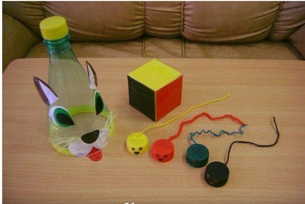 Делаем кота и мышек для веселой игры