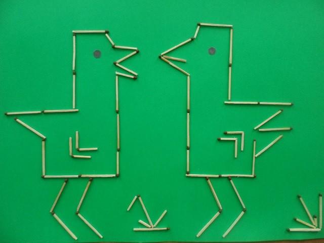 Чудесные аппликация из спичек: идеи для детского творчества