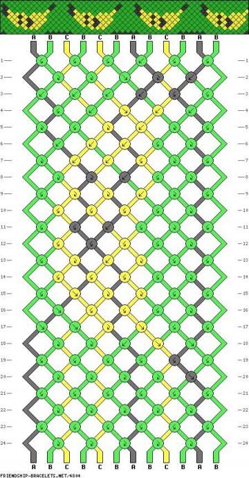 Схемы для фенечек