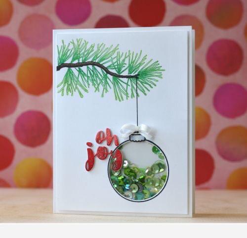 Идеи для новогодних открыток 1