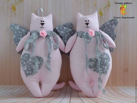 Текстильные котики-толстопузики