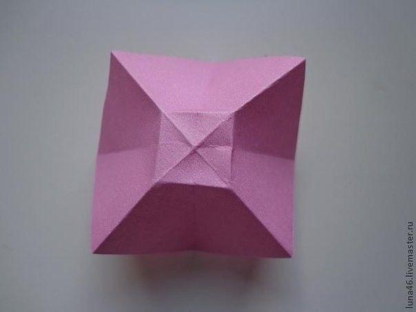 Как сделать бантик из бумаги 4