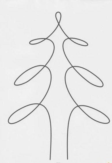 Рисунки, созданные одной линией