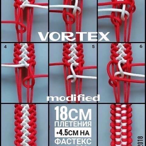 Плетение в технике макраме из паракорда