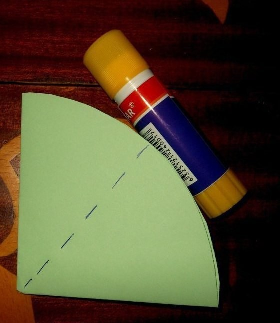 Радужные зонтики из бумаги