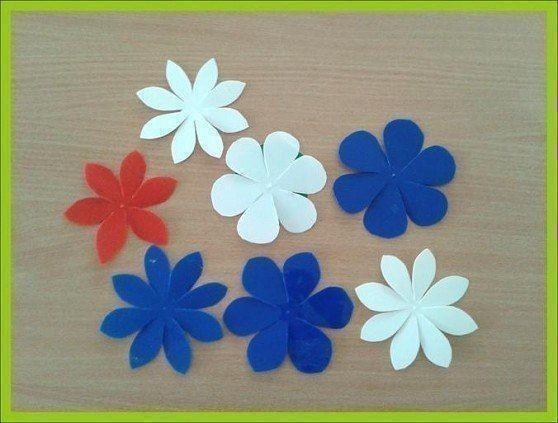 Подвески с цветами