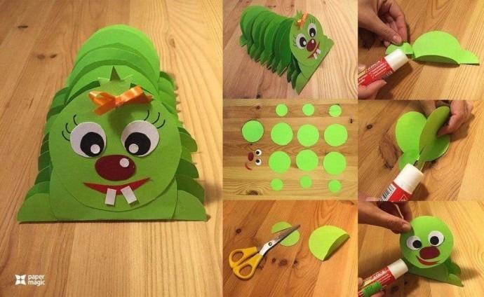 Бумажное творчество с детьми