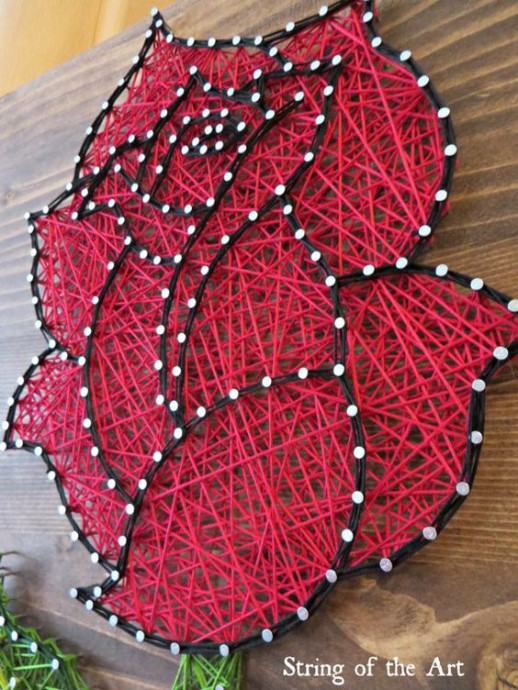 String Art: идеи для совместного творчества ребенка с папой