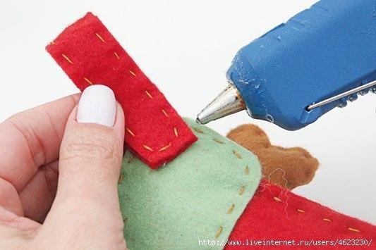 Мягкая игрушка детскими руками 8