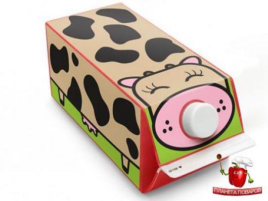 Поделки из обычного пакета от молока: идеи