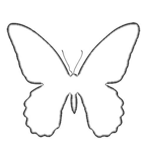 Панно с объемными бабочками