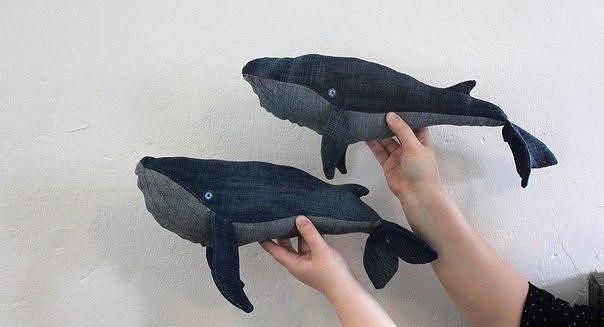 Джинсовый кит