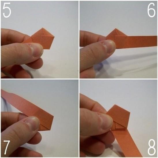 Как сделать звездочку из бумажной полоски