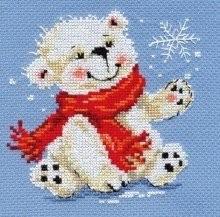 Новогодняя вышивка для детей
