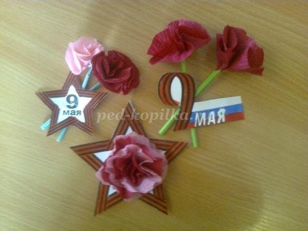 Мастер-класс по изготовлению нагрудного значка для ветеранов ко Дню Победы