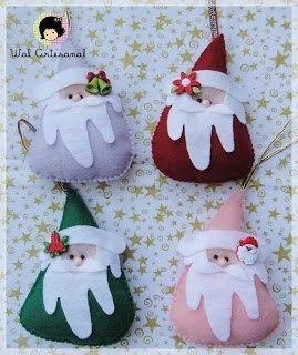Дед Мороз из фетра 2