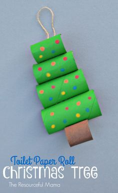 Новогодние поделки из картонных рулончиков 2