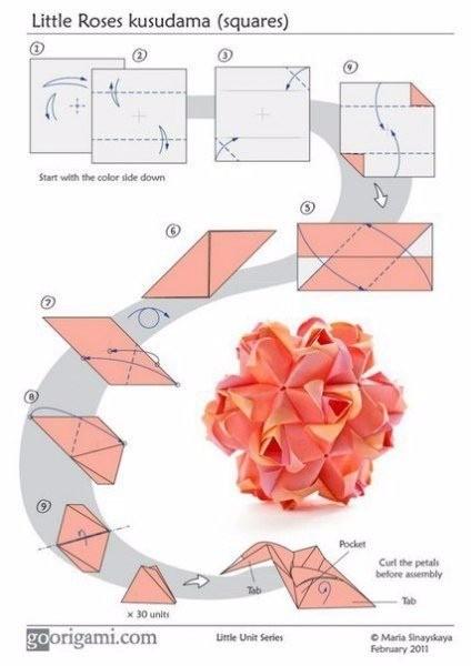 Шары оригами