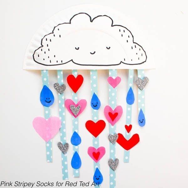 Сердечный дождик