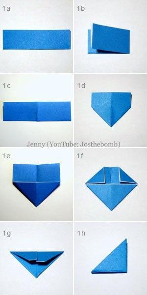 Совушка в технике модульное оригами 1