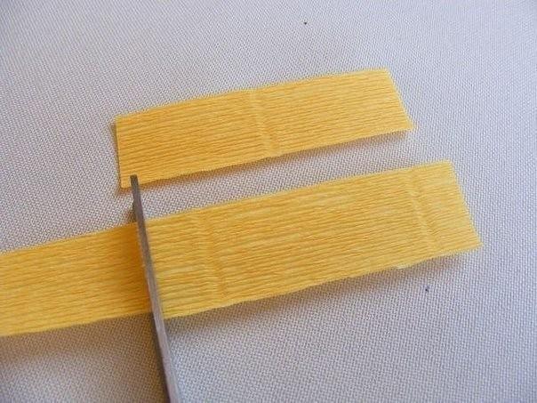 Букет весенних крокусов из бумаги