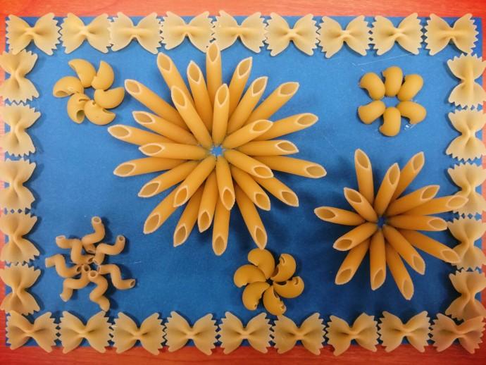Поделки из макарон