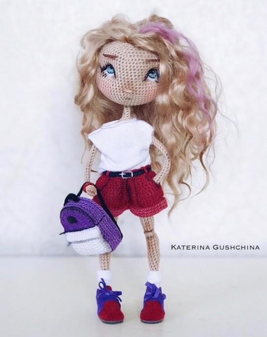Рюкзачок для куколки 10