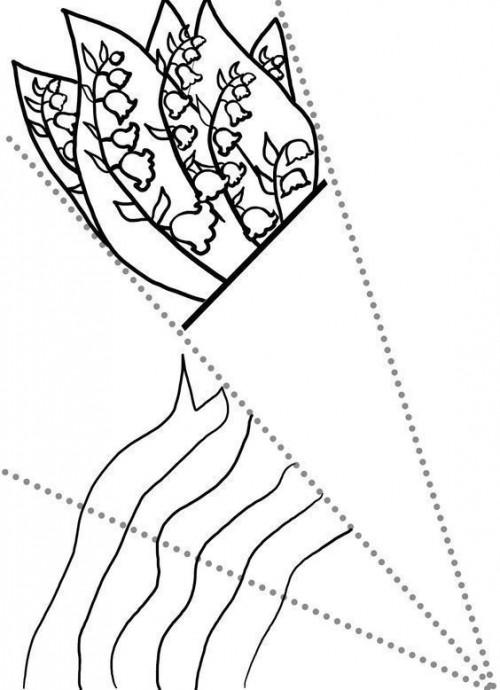 Шаблоны букетиков