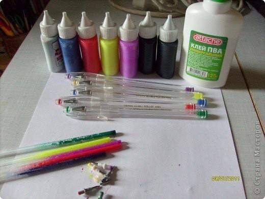 Домашние витражные краски