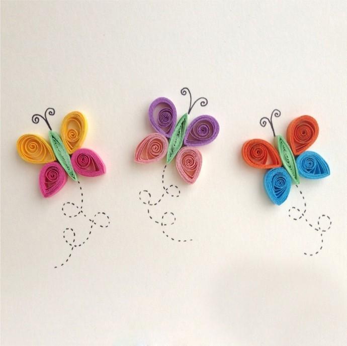 Примеры квиллинга в детском творчестве