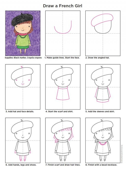 Учим детей рисовать