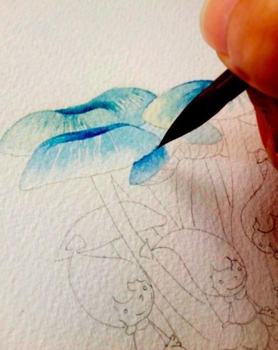 Урок рисования: волшебная страна