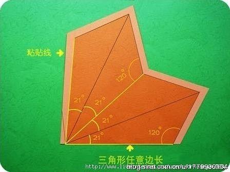 Звёздочки из бумаги с элементами вытыканок