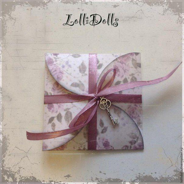 Красивая упаковка для подарка другу с открыткой внутри