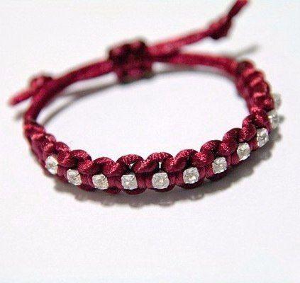 Плетём браслет 5